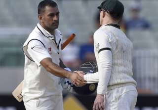 dhoni may return home before india s final test...