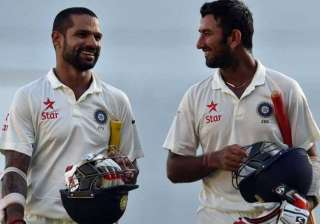 dhawan pujara expected to be axed for fourth test...