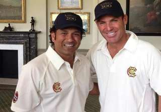 warne sachin to make an exciting announcement...