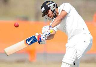 ranji trophy pandey approaches ton in karnataka s...