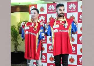 royal challengers bangalore unveil their new kit...