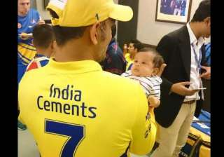 ziva s smile has changed my life ms dhoni - India...