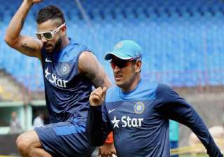 tri series 2015 team india returns to training...