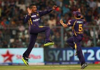 ipl 8 advantage even if narine bowls only...
