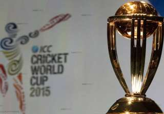 cricket world cup trophy tour reaches gurgaon -...