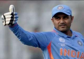 sehwag wishes team india ahead of wc - India TV