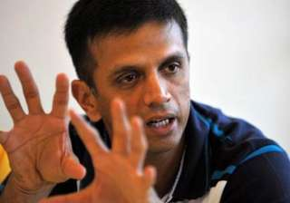 don t really like current world cup format dravid...