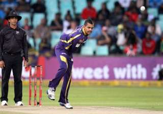 ipl 8 sunil narine again reported for suspected...