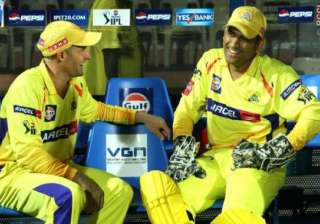 dhoni for hussey as team india s coach - India TV