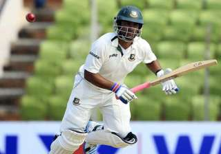 bangladesh 60 1 at lunch on 1st day of 1st test...