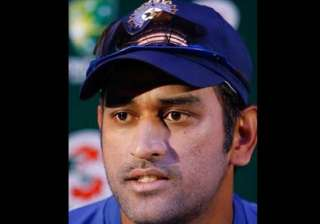 unhappy with pitch dhoni walks out of practice...
