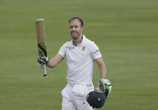 sa vs wi de villiers ton gives south africa edge...
