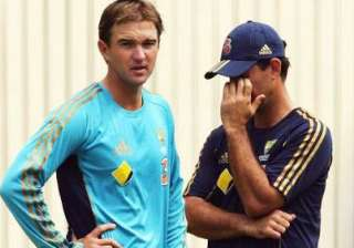 hauritz will be our no. 1 spinner against india...