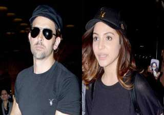 hrithik anushka in kolkata for ipl opening...