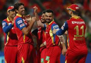ipl 8 rcb to face csk in a high voltage encounter...