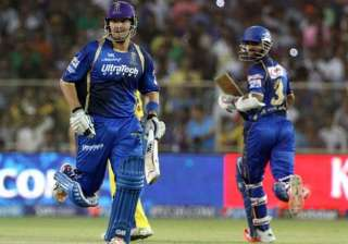 ipl 8 rr trounce csk by 8 wickets register 5th...