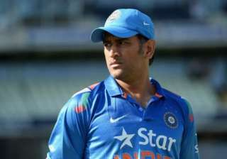 tri series 2015 we kept losing wickets says dhoni...
