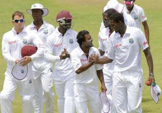 india a lose three wickets as west indies a...