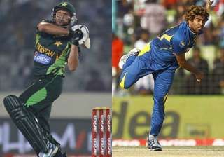 lasith malinga and shahid afridi the two face of...