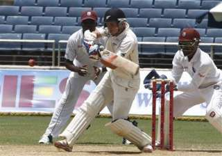nz lead west indies by 342 at lunch on day 4 of...