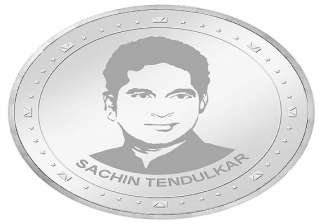 new tendulkar silver coins to be launched on mar...