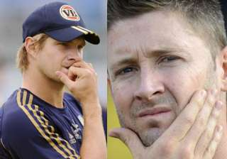 once foe shane watson gets robust tutorial from...