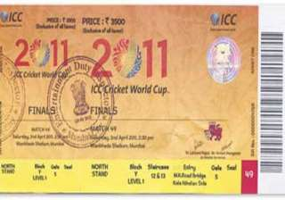 pak nationals want to sell 3 000 wc final tickets...