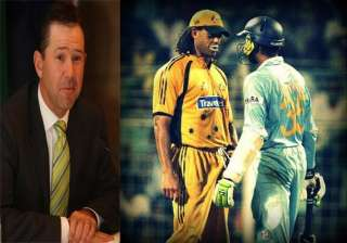 ponting throws light on bhajji symmo incident in...
