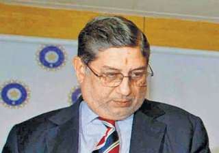 questions raised on srinivasan s role in ipl -...
