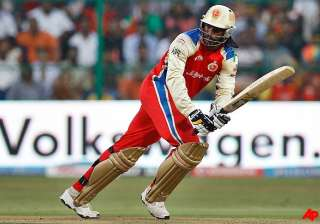 gayle helps rcb thrash csk to finish on top of...