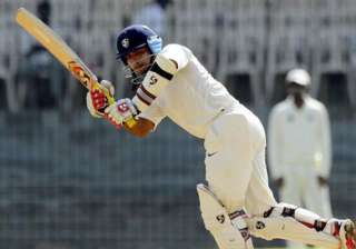 ranji final saxena hits double ton rajasthan 404...