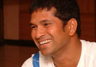 sachin interacts with physically challenged...