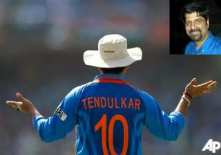 sachin s presence made the difference says...