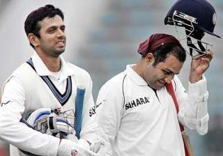 sehwag dravid rubbish rumours of rift in indian...