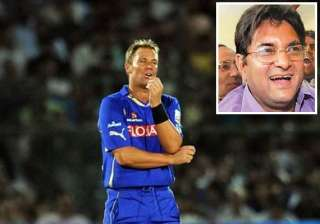shane warne escapes ban fined 50 000 for his spat...