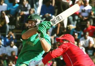 south africa beats zimbabwe by 6 wickets - India...