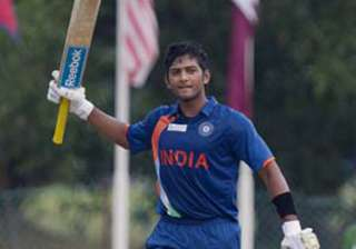 unmukt chand shines as india u 23 beat pak in acc...