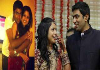 watch pics of ashwin spinning romance with his...
