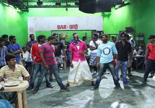 west indian all rounder dwayne bravo shoots for...