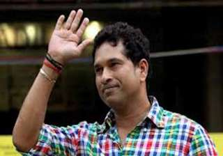 when indian dressing room will echo sachin.........