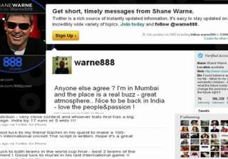 whoever bats first will be ahead shane warne on...
