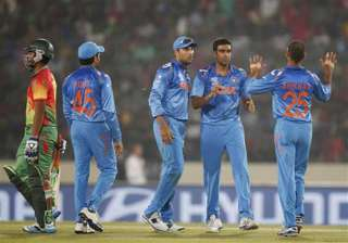 world t20 bangladesh vs india scoreboard - India...