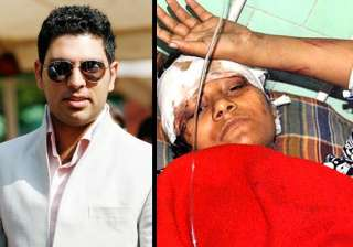 yuvraj to give rs one lakh to arunima - India TV
