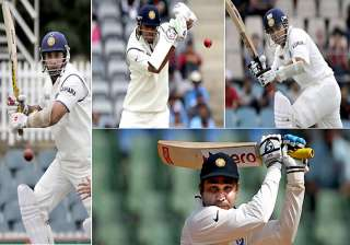 big four of india s batting need to click in...