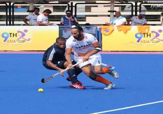 asia cup hockey india crush oman 8 0 as mandeep...