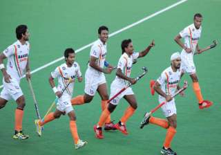 asia cup india beat south korea qualify for semis...