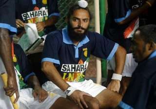 rajpal axed halappa on standby in 18 men indian...