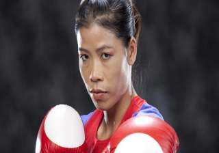 boxer mary kom promises to win gold for india in...