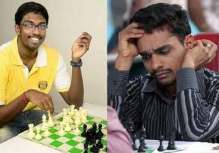 chess world cup adhiban sasikiran in second round...
