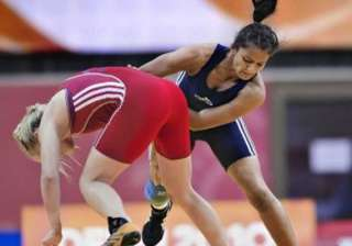 geeta wins gold in asian qualifying event books...